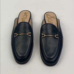 Sam Edelman | Lounette Leather Mule Slide Loafer